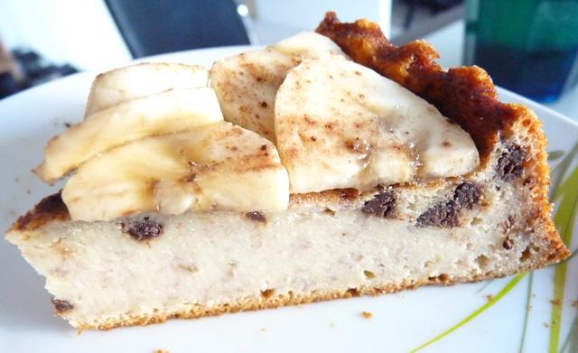 Cheesecake Bananes Pépites de chocolat P1130962-3725c12
