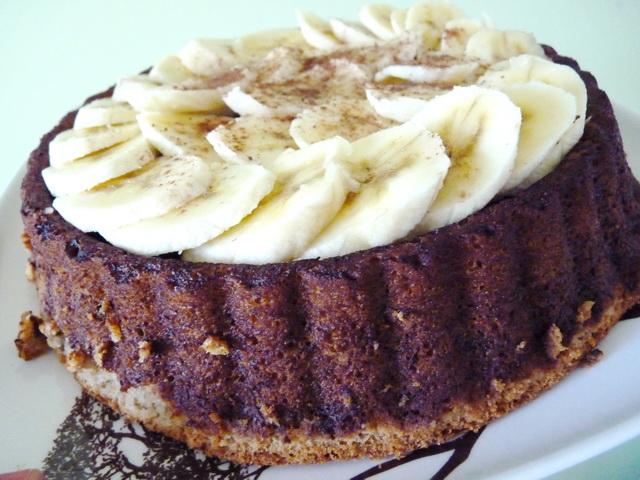 Cheesecake Bananes Pépites de chocolat P1130944-3725bfd
