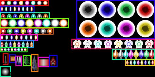 *[Tuto Danmakufu v0.12] N°2: Changer les graphismes de base (sprites, cadres, bullets et autre) Shot-392f8db