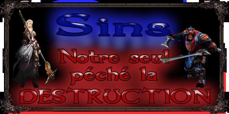 Sins - La Guilde Index du Forum
